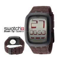 SWATCH ORIGINAL 100% SURB113 BROWN TIP TouchScreen
