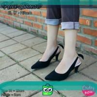 Fsb - Sepatu Heels Wanita (SL 17 - Hitam)
