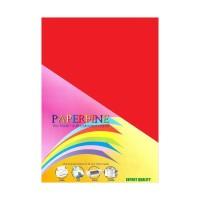 Harga paperfine plano kertas hvs warna red 61 x 86 cm 500 lembar   Pembandingharga.com
