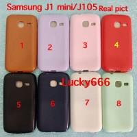 Soft case silikon matte doff samsung galaxy j1 mini j1mini j105