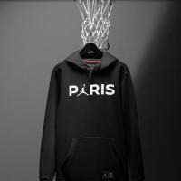 Jaket Hoodie Sweater Jumper PSG Paris Saint Air Jordan Grade Ori Lokal