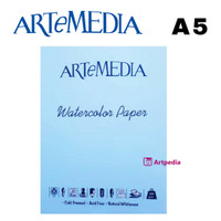 ARTeMEDIA Watercolor Paper A5 (12 lembar)
