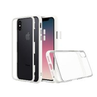 Promo RhinoShield Mod Series Case for iPhone X Original - Whi Limited
