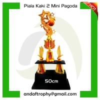 Piala kaki 2 mini pagoda