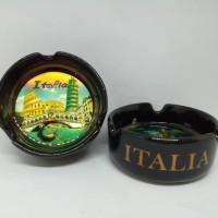 Souvenir Asbak keramik oleh oleh Italia cemderamata Italy