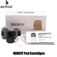 JUSTFOG MINIFIT CATRIDGE isi 3pc Authentic