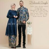 ORIGINAL Couple halimah set cople sarimbit batik lengan panjang