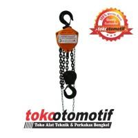 Chain Block SUPER TAKADA 3 Ton x 5 Meter Katrol / Chain Block