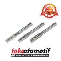 Hand Tap Set M4 X 0.7 ( Top Quality ) Pembuat Ulir / Memperbaiki Mur
