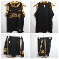 STELAN BAJU JERSEY BASKET NBA KIDS ANAK - LOS ANGELES LAKERS GRADE ORI