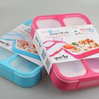 [579] Kotak Makan Yooyee 3 SEKAT kotak bekal Anti Bocor