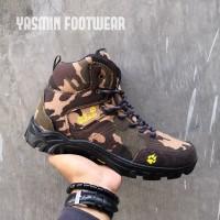 Sepatu Tactical Army / Sepatu Outdoor Jack Wolfskins / Sepatu Airsoft