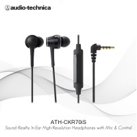 Audio-Technica ATH-CKR70iS BK ( BLACK )