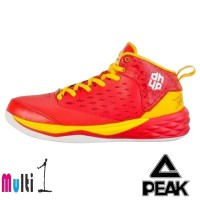 68f221de6c62 PEAK Dwight Howard Training Sepatu Basket Pria - Red yellow E63003A
