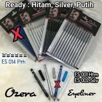 [ OZERA ] EYELINER OZERA HITAM / PUTIH / SILVER