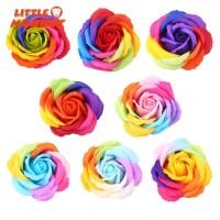 Sabun Bunga Mawar Imitasi Warna Warni untuk Hadiah