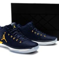 Nike Low Air Jordan 31 XXXI Navy Blue Michigan Perfect Kick Original