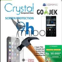 Tempered Glass Hippo Crystal Xiaomi Redmi 3 3s 3 Prime Garansi Resmi