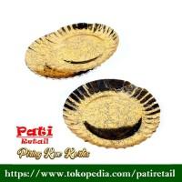 Piring Kue Tart - Motif Batik Murah