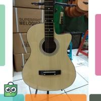 Gitar Akustik Merk Yamaha BONUS SOFTCASE buat Pemula Murah Jakarta