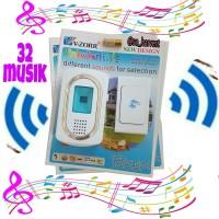 Bel Pintu 32musik pilihan /Electronic ( Wireless bell )