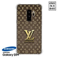 LV Louis Vuitton Casing Samsung Galaxy S9+ S9 Plus Anti Crack Case HP