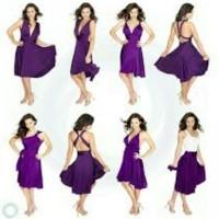Infinity mini dress