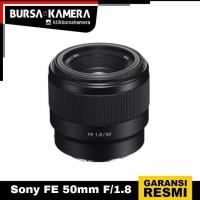 SONY LENSA FE 50mm F/1.8