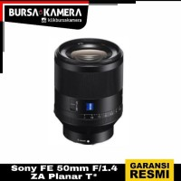 SONY LENSA FE 50mm F/1.4 ZA Planar T*