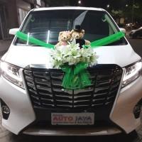 Alphard Bear Couple Wedding Car Accesorieshiasan Mobil Pengantinbung