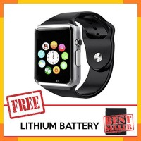 Cognos Smart watch A1 FREE BATTERY SmartWatch Jam Tangan TERMASUK BOX