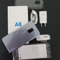 Samsung Galaxy A8 2018 SEIN, Orchid Grey. lengkap muluss