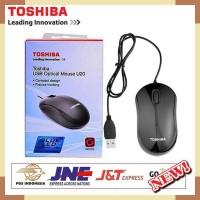 MOUSE TOSHIBA USB OPTICAL U20 BLUE LED Original - Bisa Dikaca