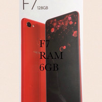 HP OPPO F7 4G LTE RAM 6GB INTERNAl 128GB  NEW MURAH F7  GARANSI RESMI