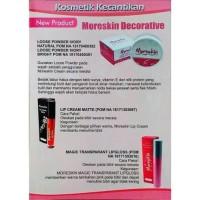 Lipstik LC07MB Moreskin Lip Cream Merah Tua Original Nasa Alami Aman