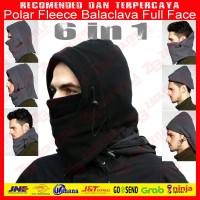 Masker | Balaclava | Kupluk | Topi Helm Polar 6in1 Full Face Multifung