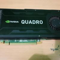 Vga Nvidia Quadro K4000 3Gb 192bit Ddr5