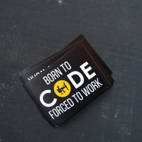 Born To Code - Sticker Programmer - Stiker untuk Laptop
