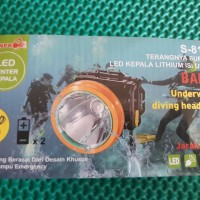 Senter kepala Selam 30 W SUNPRO S8132-Headlamp Diving 30 W