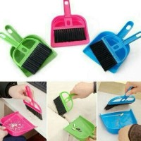 Mini Dustpan Set (Sapu Mini dan Serokan)