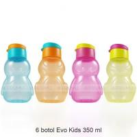 6 Botol Minum Anak - Cleo Evo Kids - Souvenir ulang tahun (Botol air)