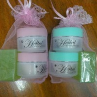 CREAM WALET HERBAL / HERBAL ALGAE HIJAU / PINK