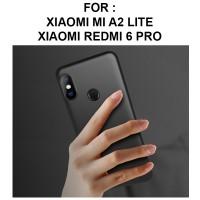 SOFT MATTE case Xiaomi Mi A2 Lite Redmi 6 Pro softcase casing hp cover