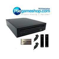Jual Nintendo Wii Black Console (2 Remote+ Hdd 500 Gb 270 Game) Murah
