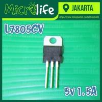 L7805CV 5v 1.5A 3 Terminal Voltage Regulator