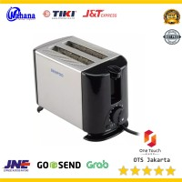 Alat Bakar Panggang Roti Toaster Pemanggang Roti Denpo Elektrik DT022D