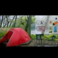 Tenda Camping Great Outdoor Eyelid Kapasitas 3 Person Frame Alloy