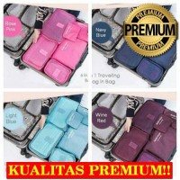 produk wulankidshop [HARGA PROMO] Travel 6 in 1 bag Set Sto