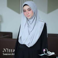 Hijab jilbab pashmina bergo kerudung scarf khimar instan nissa