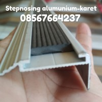 Step nosing Alumunium + karet Model 2